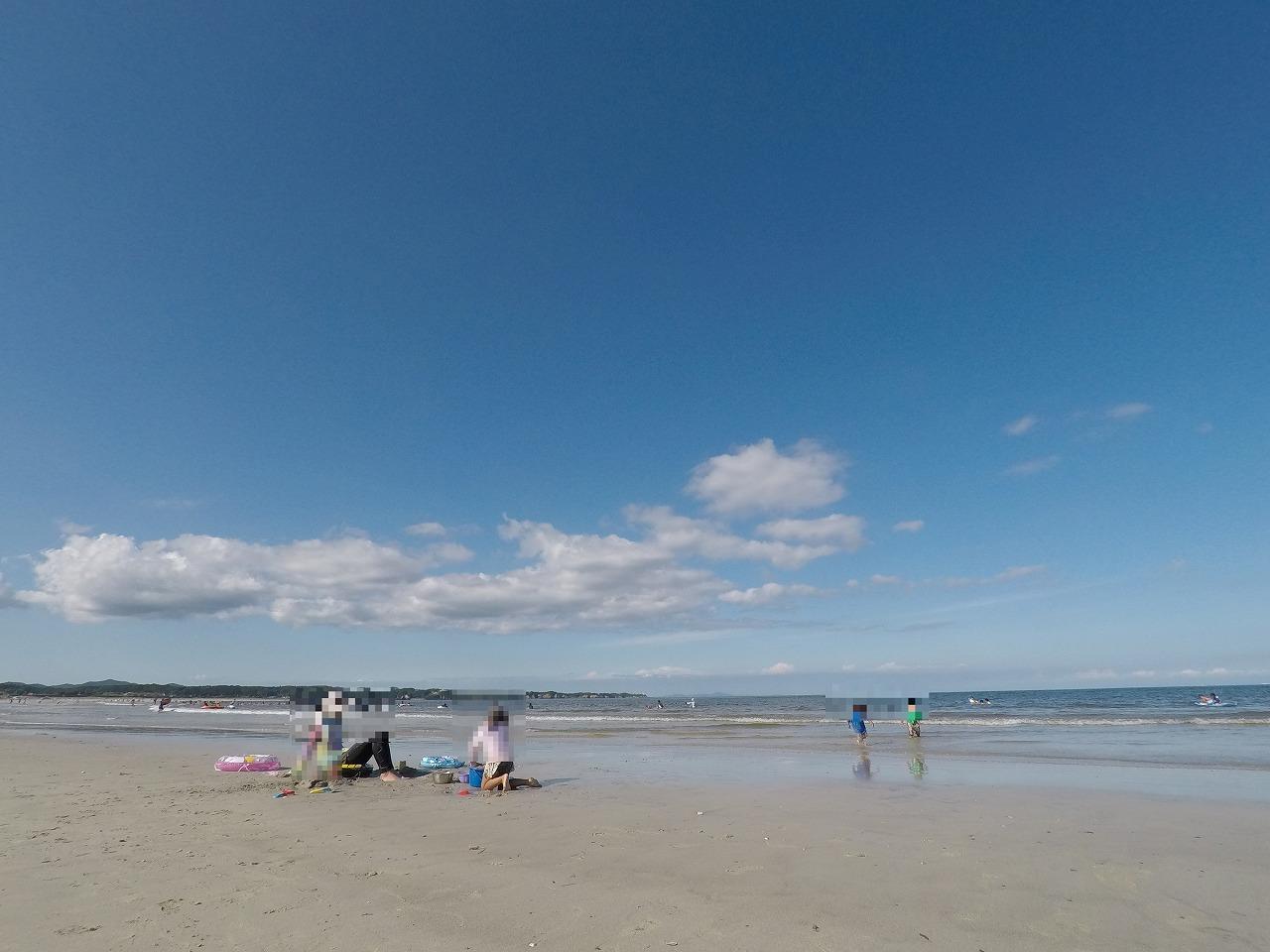 延々と続く砂浜