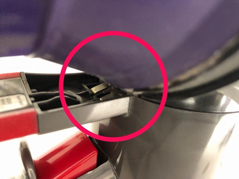 ダイソンDC62の故障ポイント