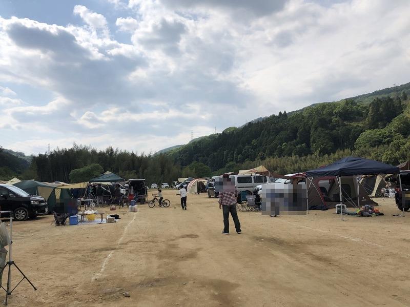 キャンプ場の様子 (2)