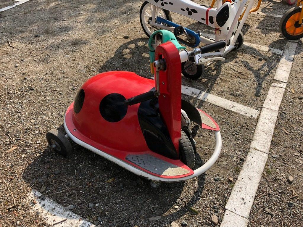 テントウ虫の自転車