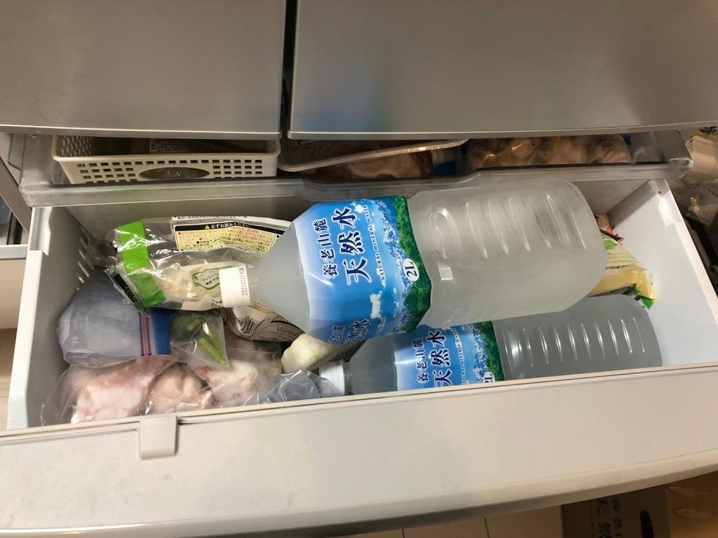 冷凍庫の詰め込み過ぎ