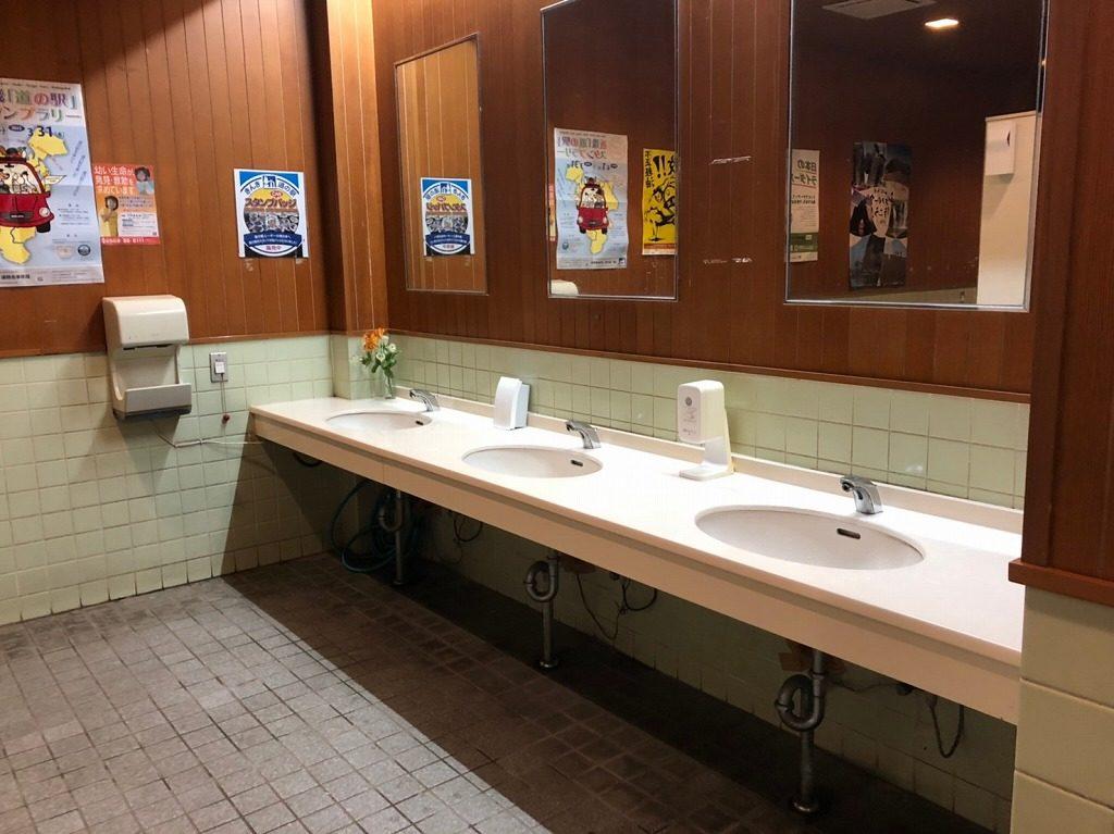 トイレは道の駅にもある