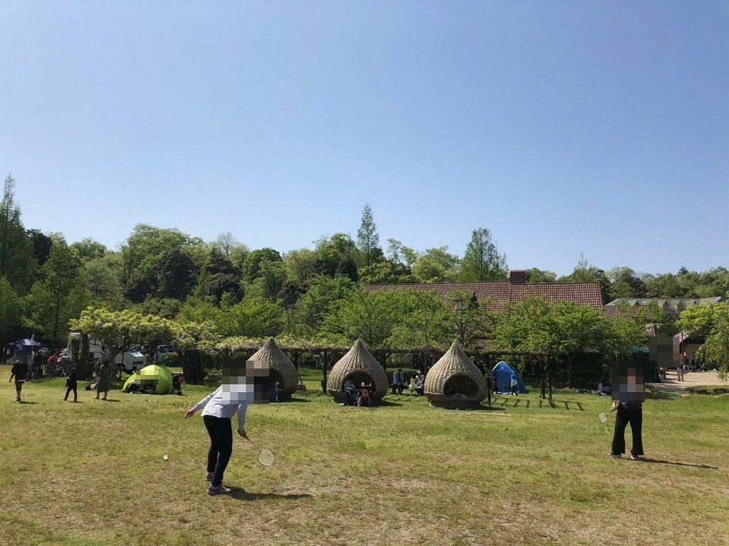 丹後王国の芝生広場