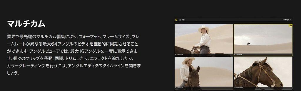 マルチカム編集