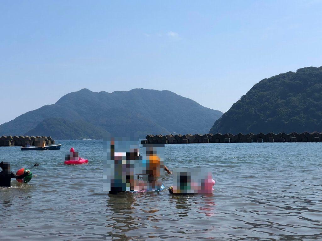 海水浴のできるキャンプ場