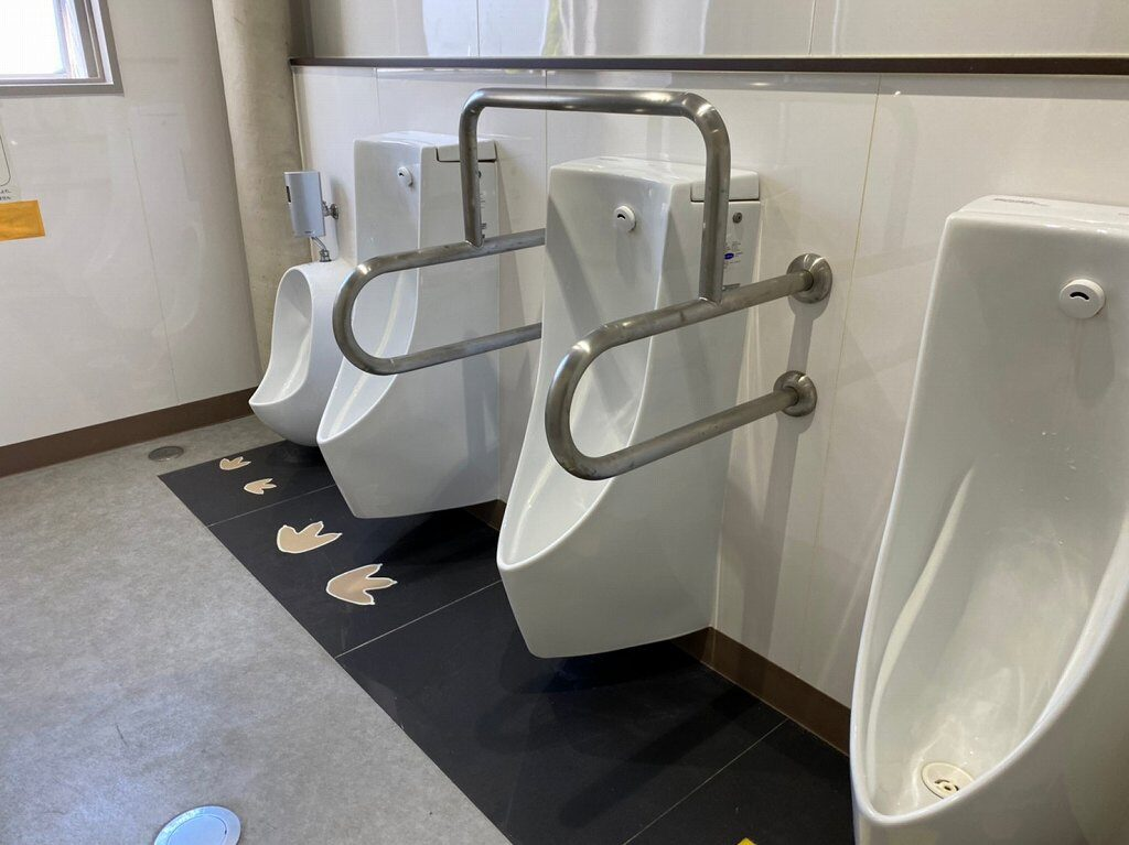 トイレはきれい